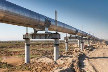 Расположение газопроводов