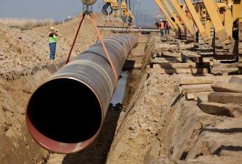 Глубина газопроводов