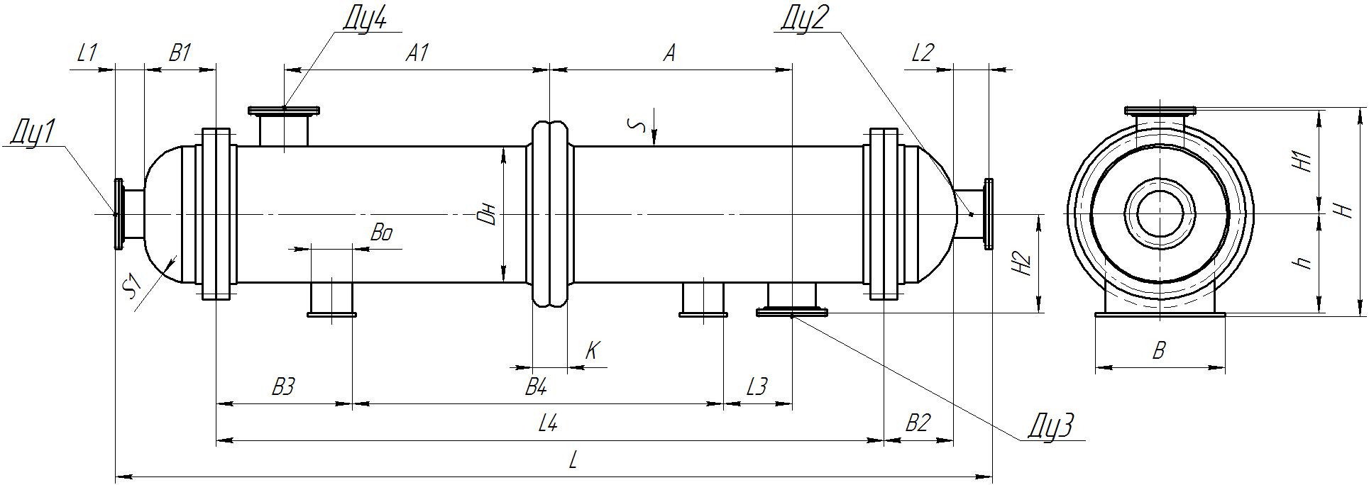 Теплообменник кожухотрубный (кожухотрубчатый) типа ТКГ Пушкино Уплотнения теплообменника Машимпэкс (GEA) LWC 100T Минеральные Воды